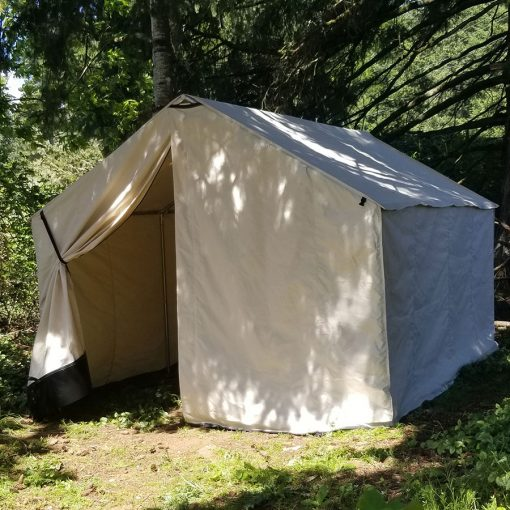 Guide Tent - Canvas Wall Tent Features