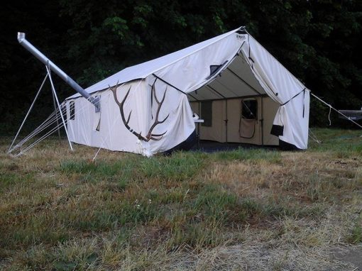 Supergrade Canvas Wall Tent