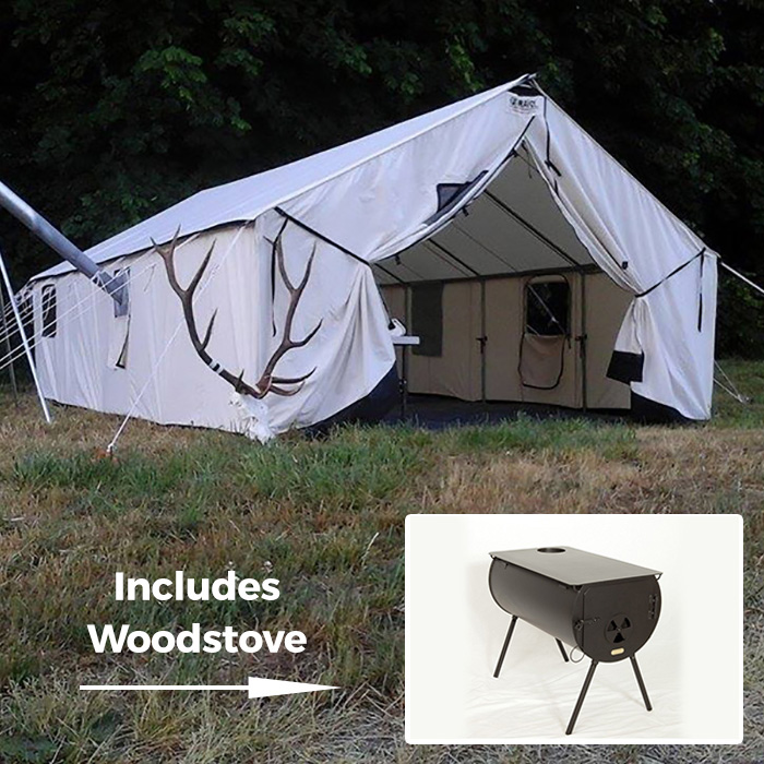 Supergrade Wall Tent - Special Package