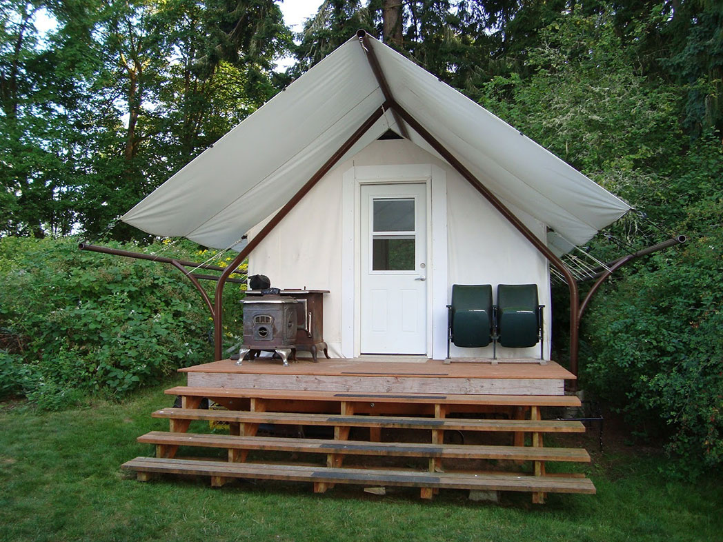 Glamping Wall Tent
