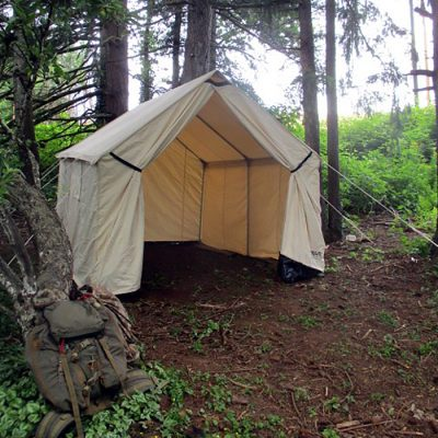 Canvas Wall Tent | Hunting Camping | Bravo Canvas Tents