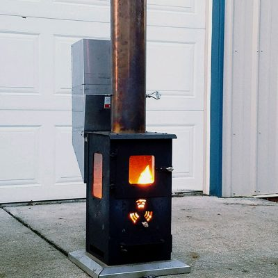 lil timber pellet stove