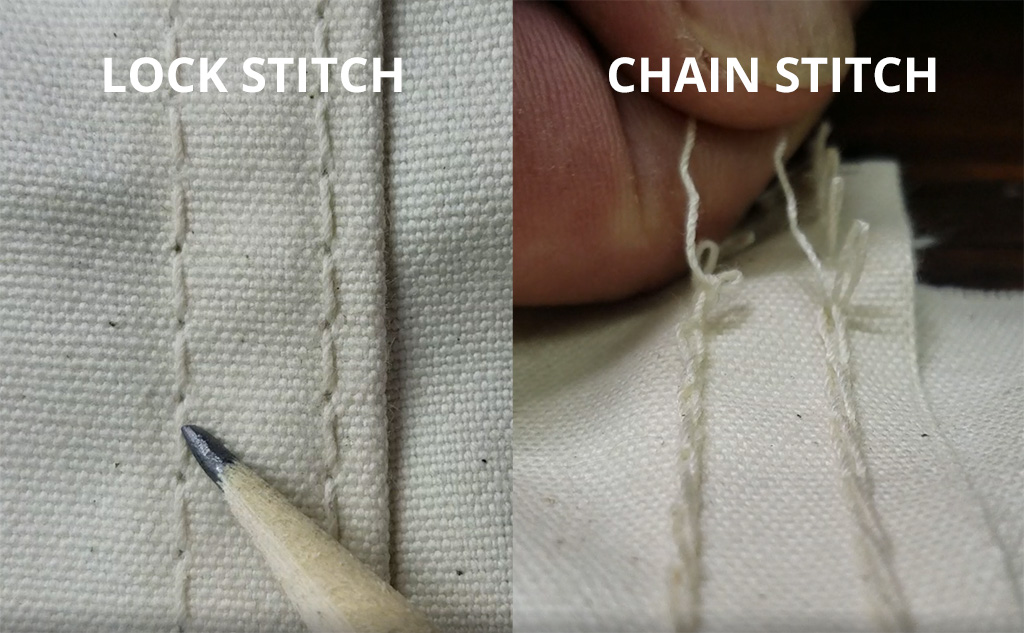 Chain Stitch VS Lock Stitch