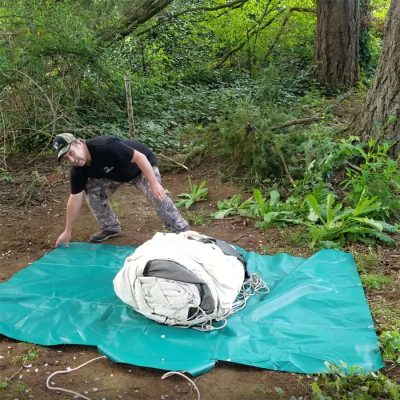 deluxe tent bag