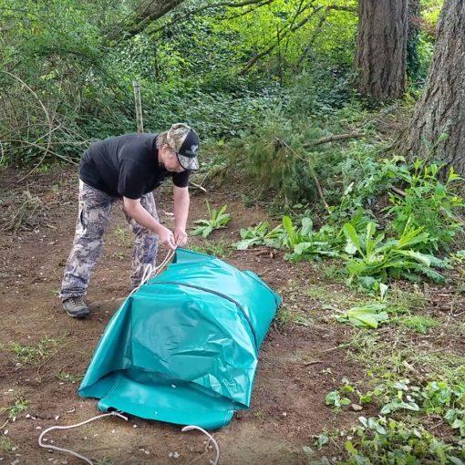 canvas wall tent bag