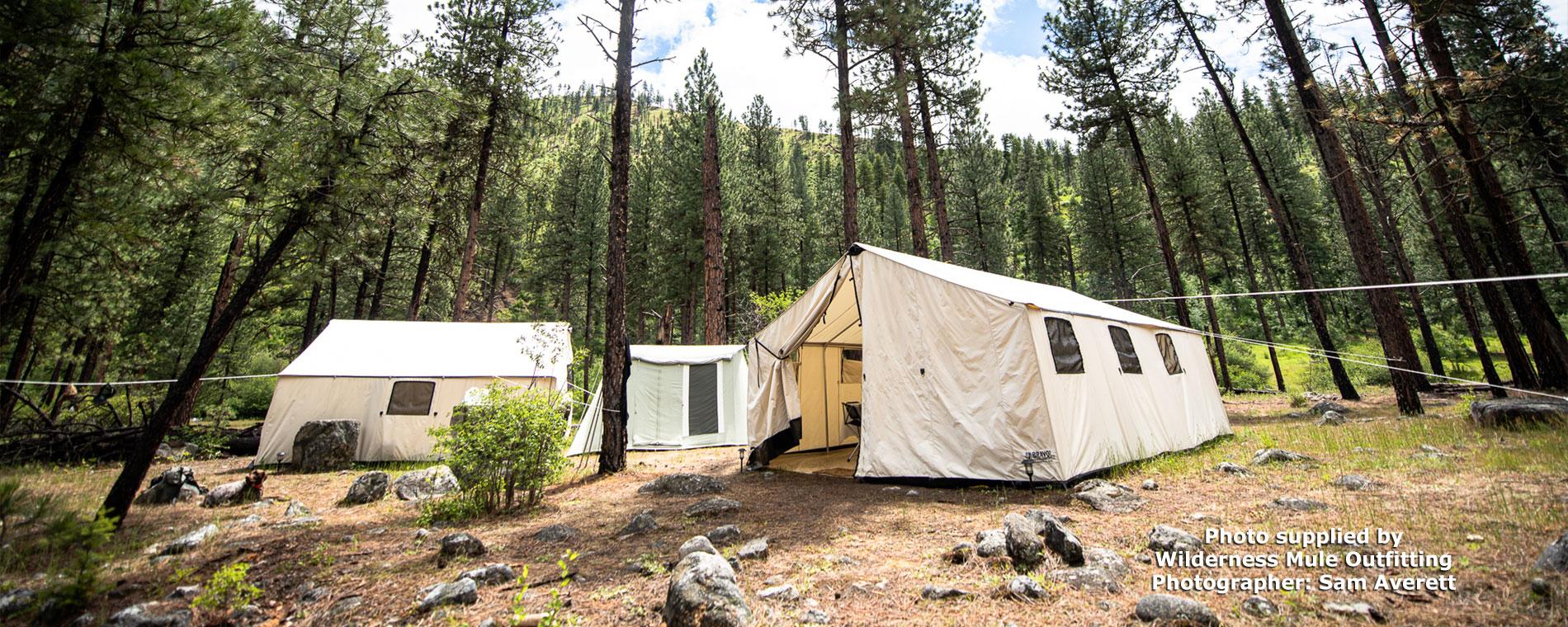 Super Grade Canvas Wall Tent