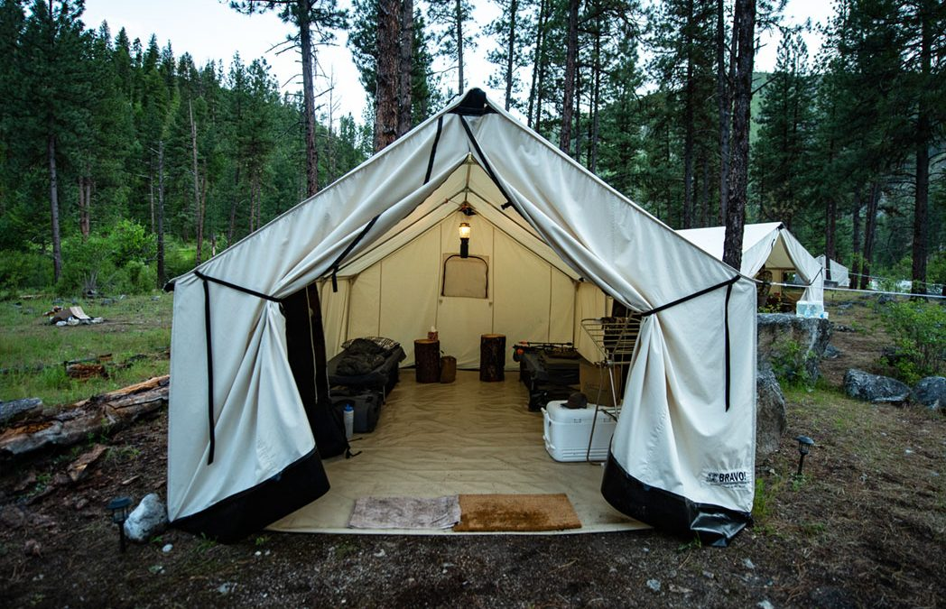 Wilderness Mule Outfitting recommends Bravo Tents