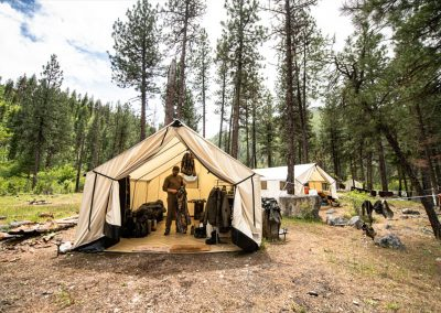 Hunting Testimonial for Bravo Tents