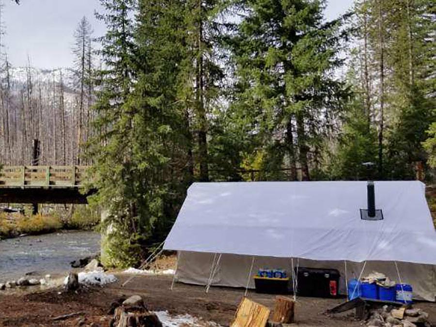 Emergency Preparedness Tent